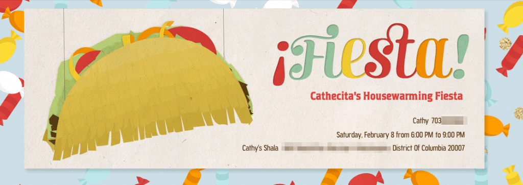 Fiesta, Cathecita's Housewarming Fiesta
